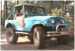 Jeep Kaiser CJ5 V8