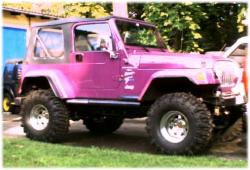 Jeep Wrangler TJ Twister