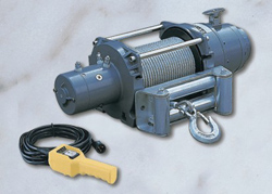 Come-Up Winch DV-15000 24V