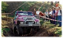 Unser erster Jeep CJ7 mit T18 Getriebe